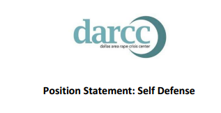 Position Statement: Self Defense