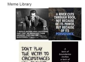 MEME LIBRARY